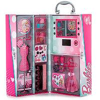 Набор детской декоративной косметики в чемодане с подсветкой