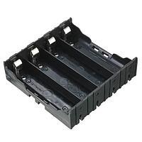 Батарейный отсек держатель для 4 аккумуляторов 18650 открытый под пайку