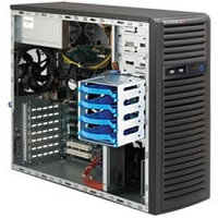 SuperMicro MidTower SYS-5038A-iL 1x4С E3-1225V3/8Gb/2x1000Gb SATA III Ent. 7.2k/DVD-RW