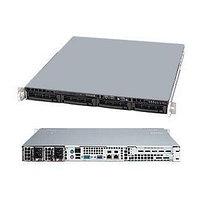 SuperMicro 1U SYS-5018D-MTF 1x4С E3-1230V3/4Gb/2x1Tb SATA III Ent. 7.2k/DVD-RW