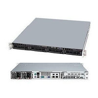 SuperMicro 1U SYS-5018D-MTRF 1x4С E3-1270V3/16Gb/4x1Tb SATA III Ent. 7.2k/DVD-RW