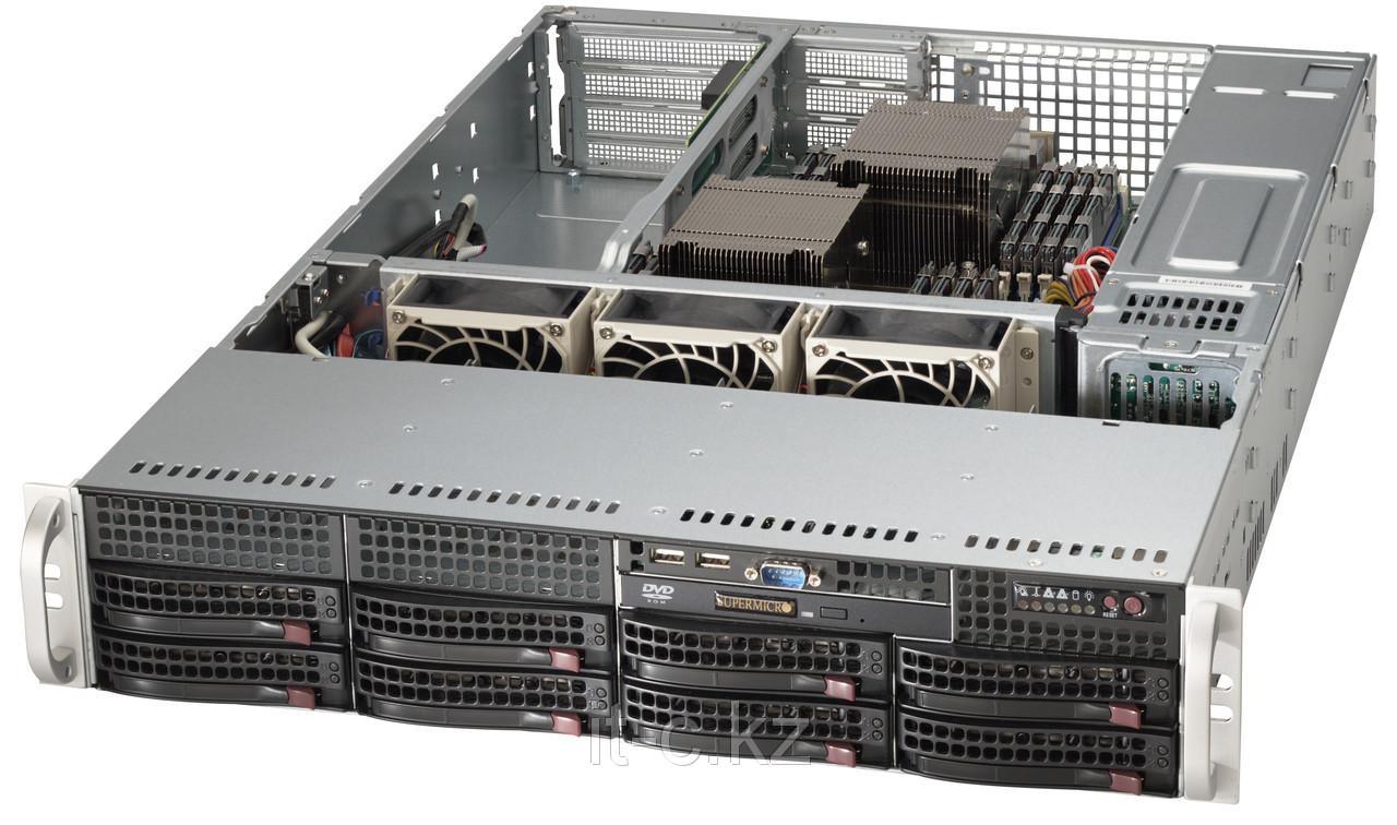 SuperMicro 2U SYS-6027R-72RF 2x6С E5-2620v2/32Gb/8x300Gb SAS 2.0 Ent.15k/DVD-RW
