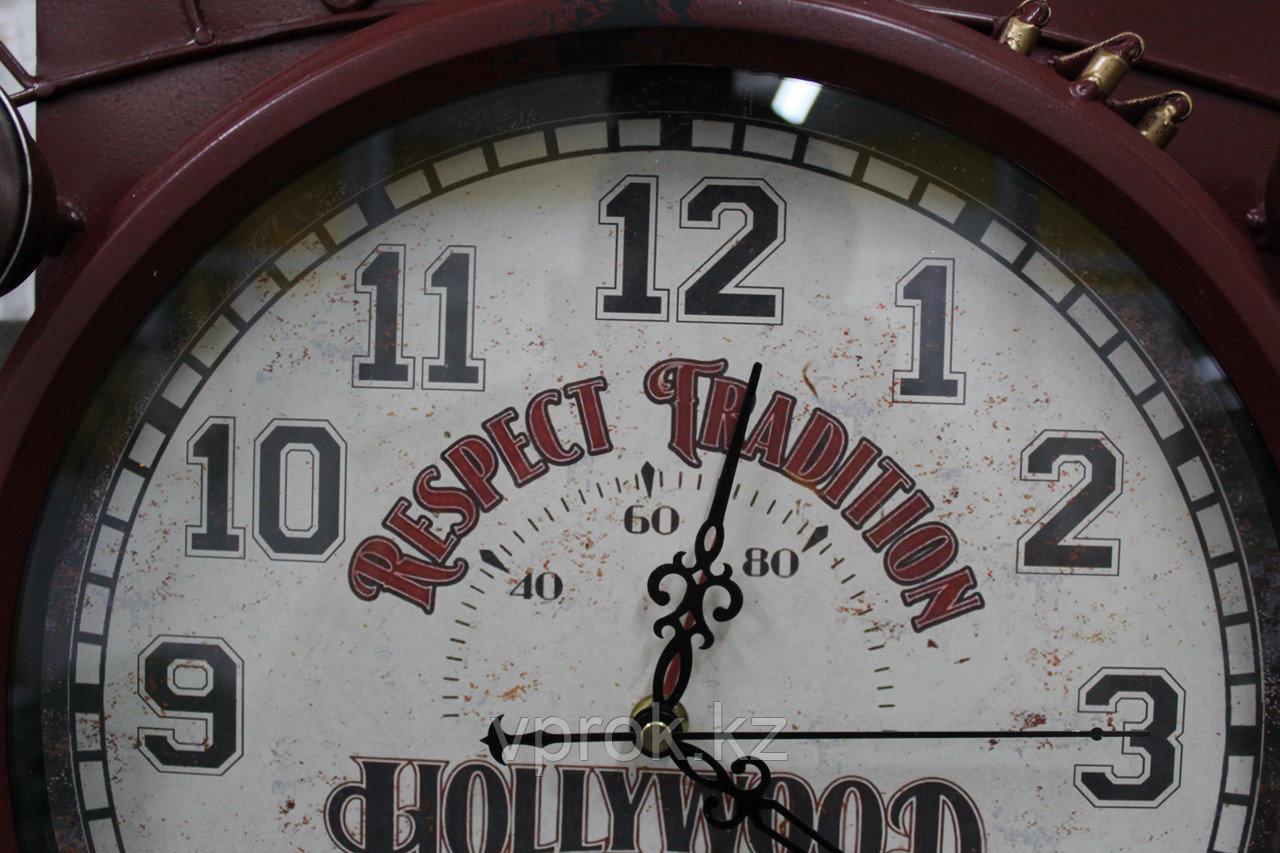 """Часы настенные, """"Автомобиль"""", 44*42 см - фото 2"""