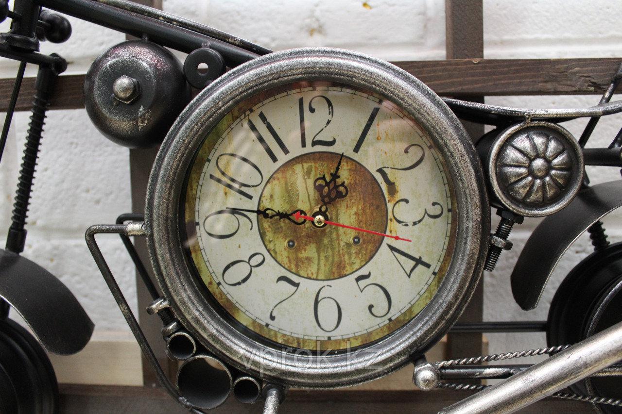 """Часы настенные, """"Байк"""", 50*25 см - фото 2"""