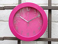 """Часы настенные, """"Quartz"""", розовые"""