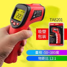 Термометр(пирометр) инфракрасный TASI TA8201 (-50 - 380C)