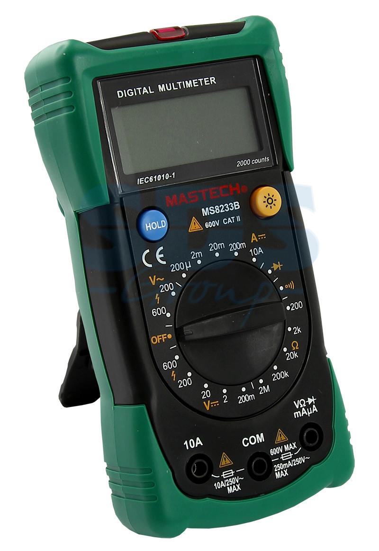 MS8233B Mastech мультиметр цифровой