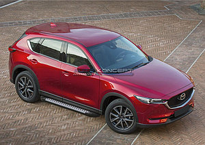 "Порог-площадка ""Bmw-Style"" Mazda CX-5 2011-2017"