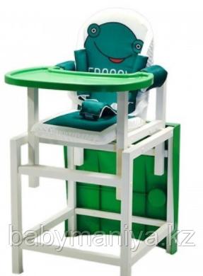 Стул-стол для кормления BABYS FROGGY Зеленый