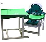 Стул-стол для кормления BABYS FROGGY Зеленый, фото 2
