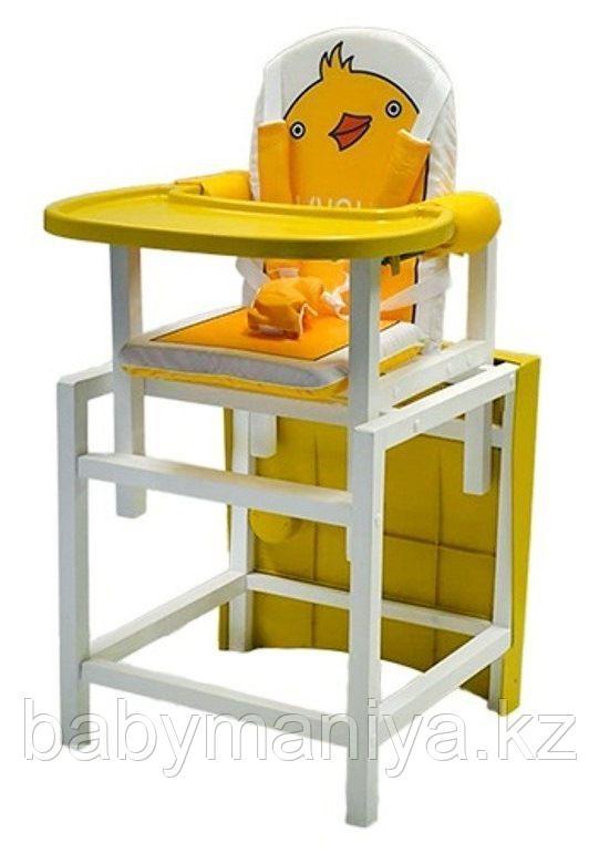 Стул-стол для кормления BABYS DUCKY Желтый