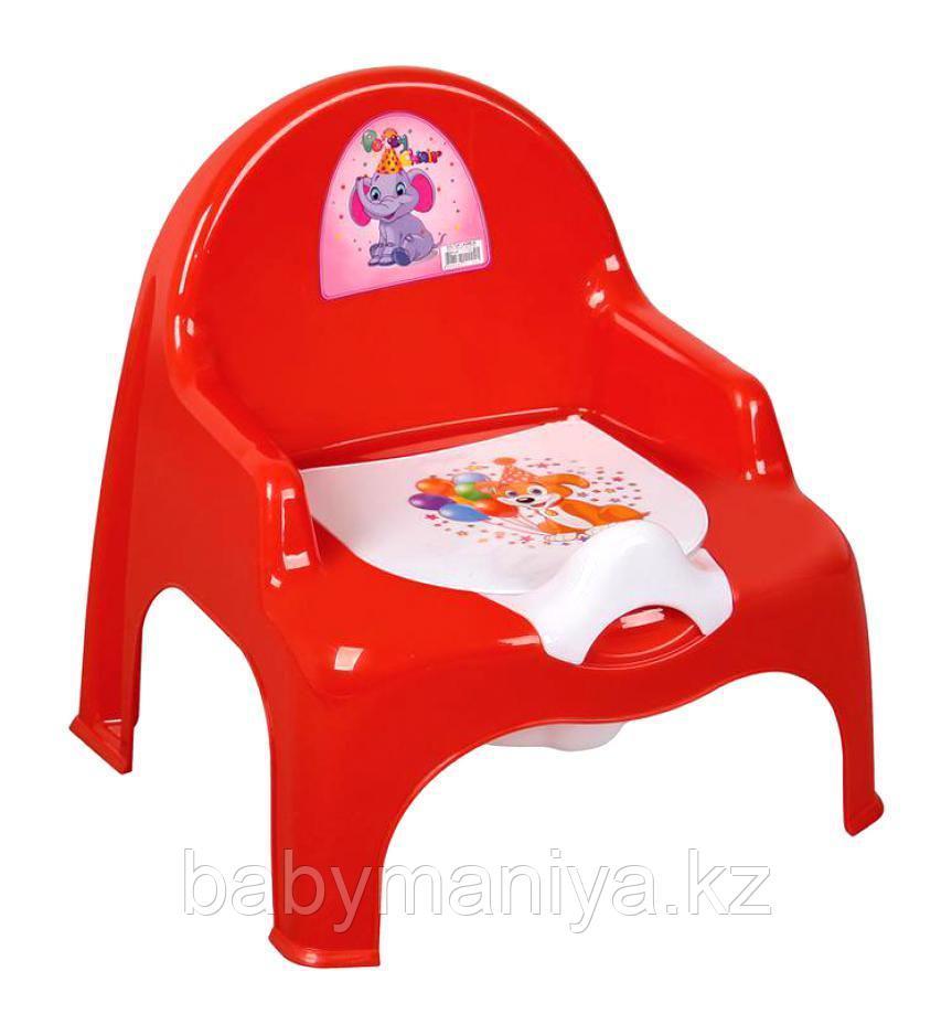 Dunya Plastik Детский Горшок-кресло НИШ красный в ассортименте