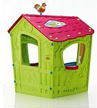 Игровой дом MAGIC Волшебный с петушком KETER Белый/Экрю/Салатовый Ecru/Green (110x110x146h), фото 2