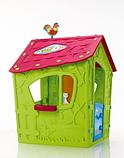 Игровой дом MAGIC Волшебный с петушком KETER Белый/Экрю/Салатовый Ecru/Green (110x110x146h), фото 3