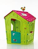 Игровой дом MAGIC Волшебный с петушком KETER Белый/Экрю/Салатовый Ecru/Green (110x110x146h), фото 4
