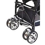 Peg Perego коляска трость Pliko P3 COMPACT CLASSICO SAXONY BLUE, фото 4