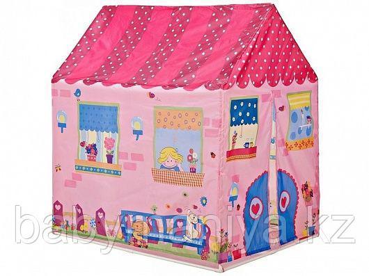 Детская палатка «Милый домик» розовая, 95х72х102 см