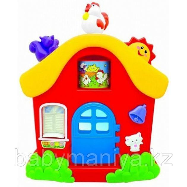 Развивающая игрушка «Интерактивный домик»
