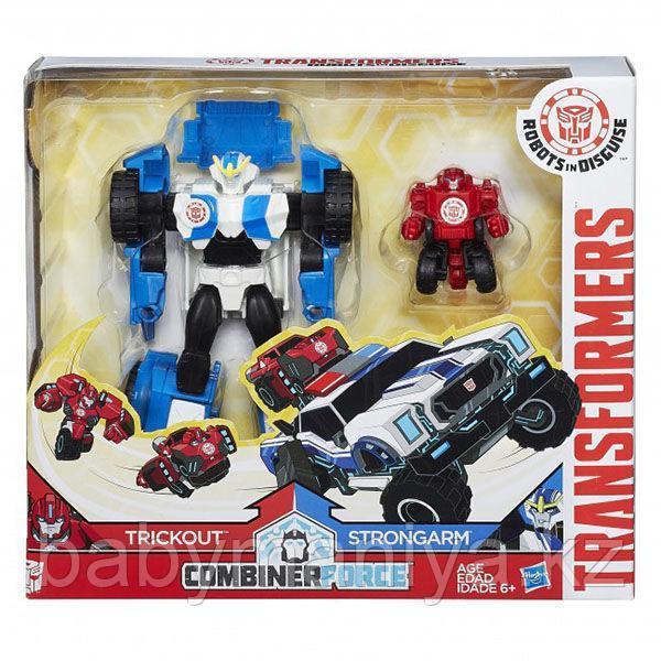 Трансформеры роботы под прикрытием: Гирхэд-Комбайнер