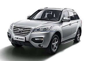 """Порог-площадка """"Premium"""" Lifan X60 2012-2016"""