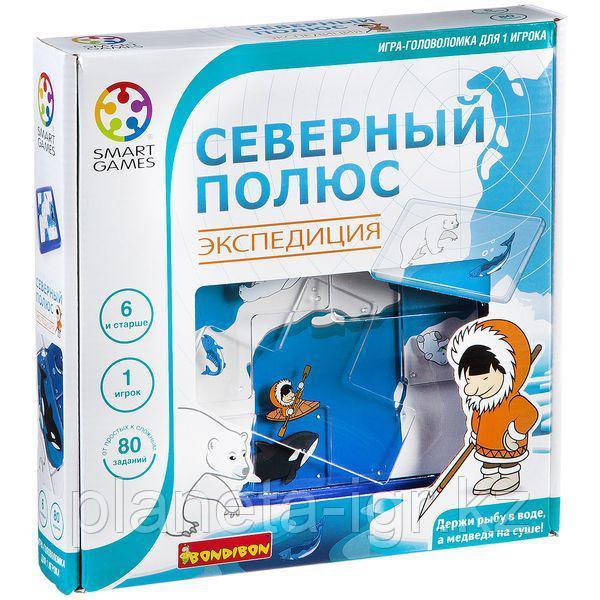 Логическая игра BONDIBON Северный полюс. Экспедиция, арт. SG 205 RU.
