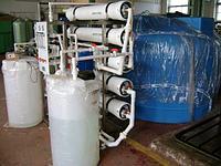 Установки обратного осмоса мембранного обессоливания воды