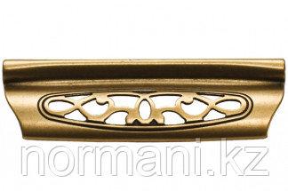 Мебельная ручка для кухни 96 бронза античная французская