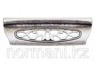 Мебельная ручка для кухни 96 серебро античное