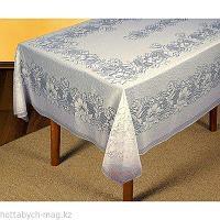 Скатерть жаккардовая, размер 165х235 см, цвет белый 1473   2335798