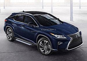 """Порог-площадка """"Bmw-Style"""" Lexus RX 2015-"""