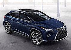 Пороги, подножки Lexus RX 2015-