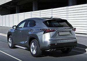 """Порог-площадка """"Silver""""  Lexus NX 2014-"""