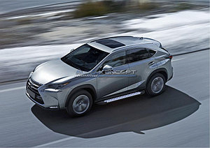 """Порог-площадка """"Bmw-Style"""" Lexus NX 2014-"""