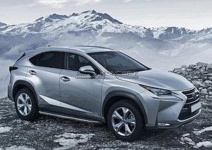 """Порог-площадка """"Premium"""" Lexus NX 2014-"""