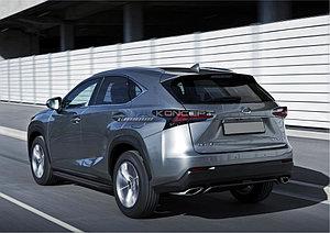 """Порог-площадка """"Black"""" Lexus NX 2014-"""