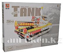 Металлический конструктор INTELLIGENT Танк (256 деталей)
