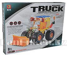 Металлический конструктор INTELLIGENT Трактор (156 деталей)