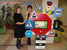 Интерактивная сенсорная панель ПДД Стандарт