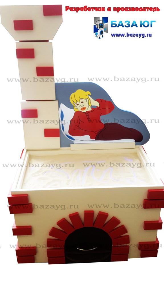 Стол для песочной анимации «Русская печь»