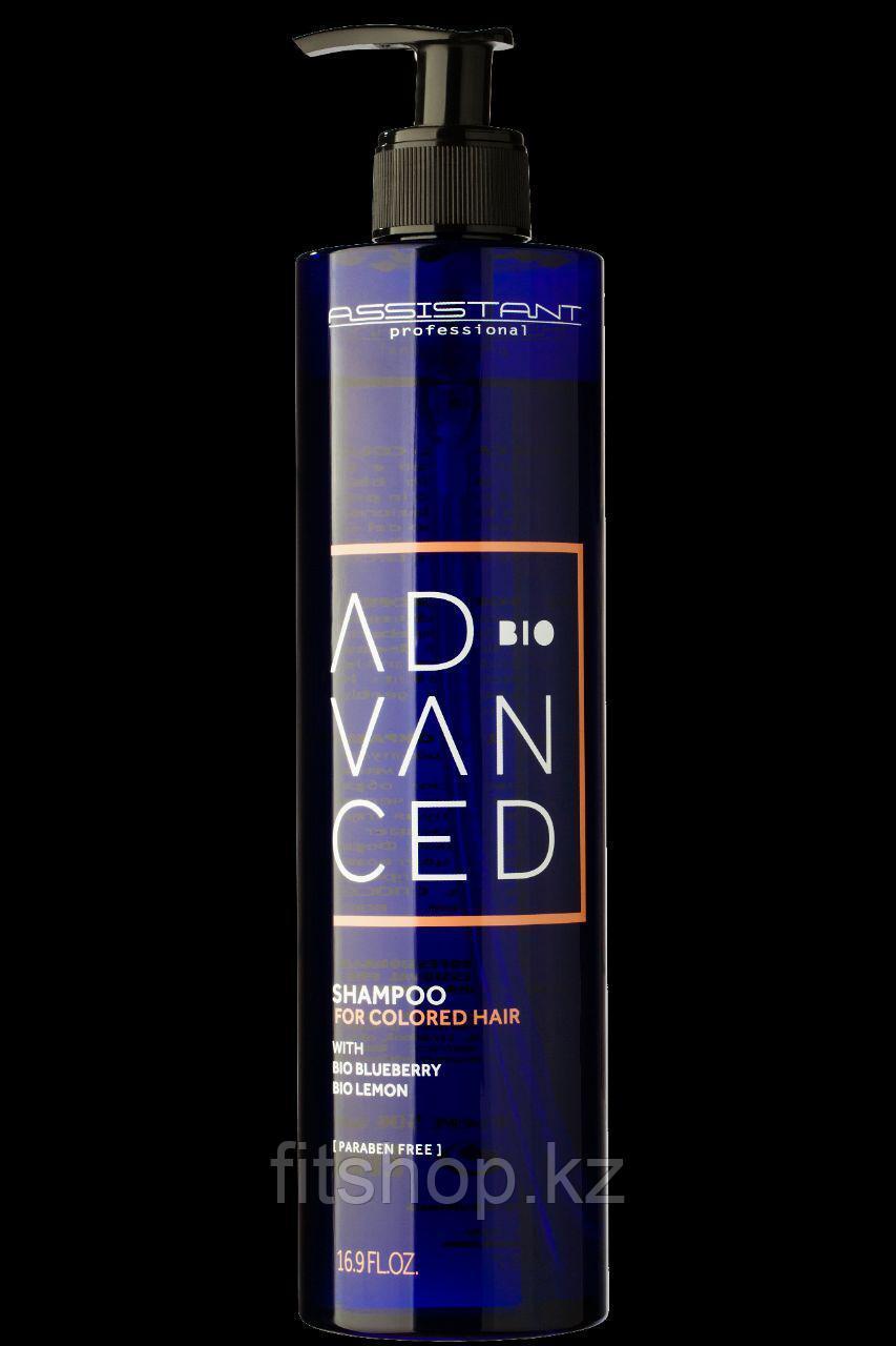 Профессиональный био шампунь Colored Hair для поддержания оттенка окрашенных волос