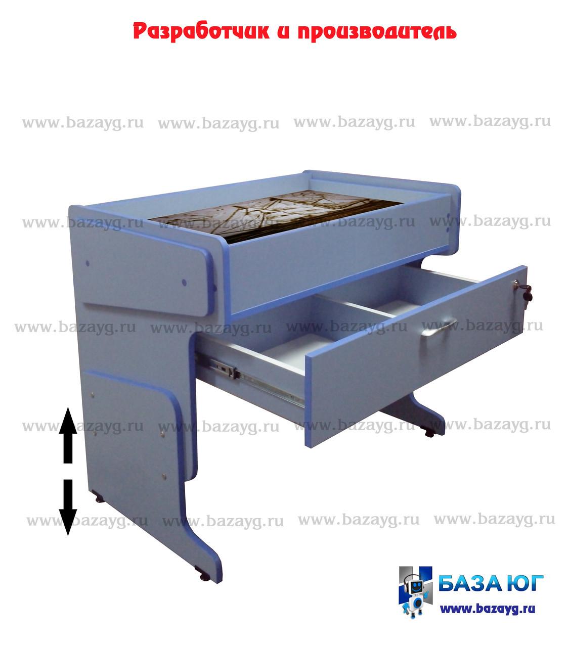 Стол для песочной анимации регулируемый с подсветкой - фото 1