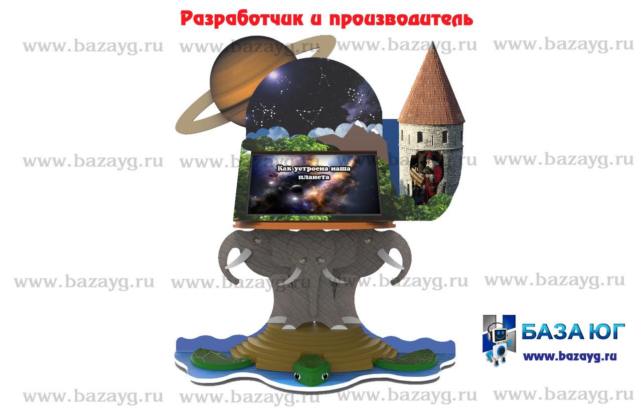 Сенсорная панель Интерактивный планетарий