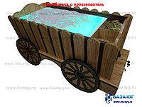 Стол для песочной анимации «Телега»