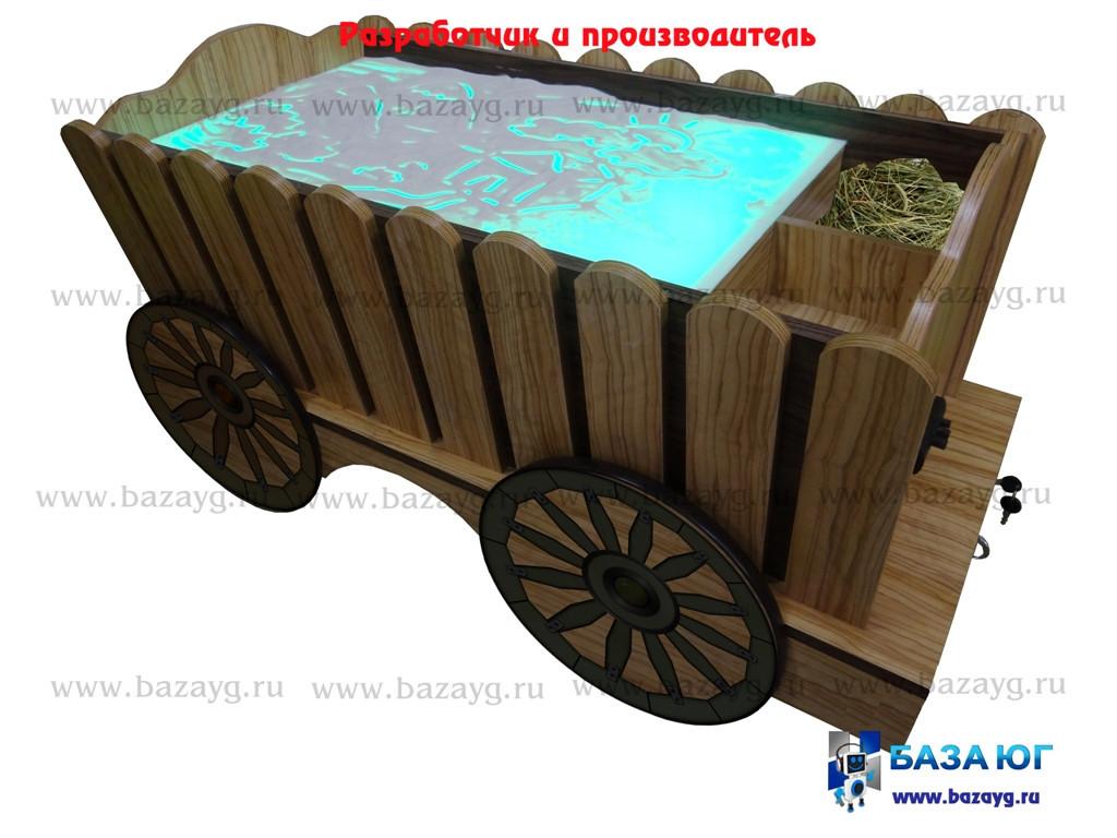 Стол для песочной анимации «Телега» - фото 1