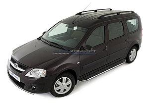 """Порог-площадка """"Premium"""" Lada Largus 2012-"""