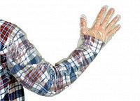 Перчатка ветеринарная ВИК-ГАМЕТА- Ультра ЛЮКС, суперчувствительная, дл. 90 см., 25 мкр