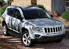 Пороги, подножки Jeep Compass 2011-2013