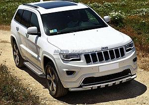 "Порог-площадка ""Bmw-Style"" Jeep Grand Cherokee 2010-2013"