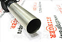 Глушитель основной для а/м ВАЗ 2172 Priora хетчбек без насадки для штатной установки под вырез бампера Ф 85 мм, фото 3