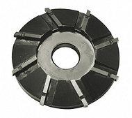 Фреза дисковая- нож, к электромашинке, для расчистки копыт у КРС, 11 ножей, № 01-3122